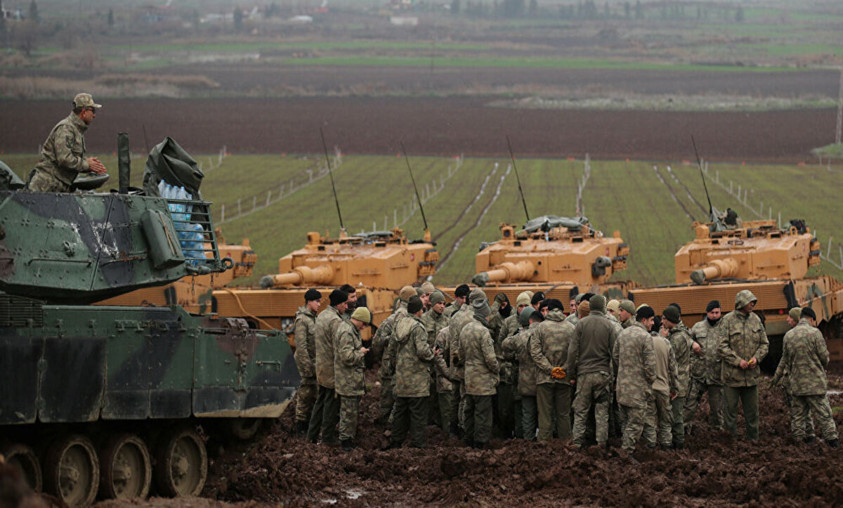 الحدود السورية التركية - وكالات