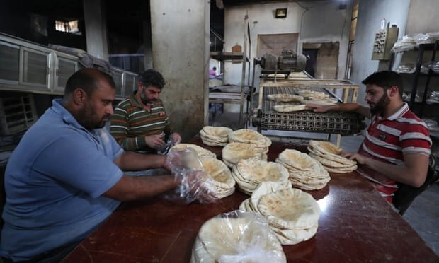 الخبز في سوريا - الغارديان