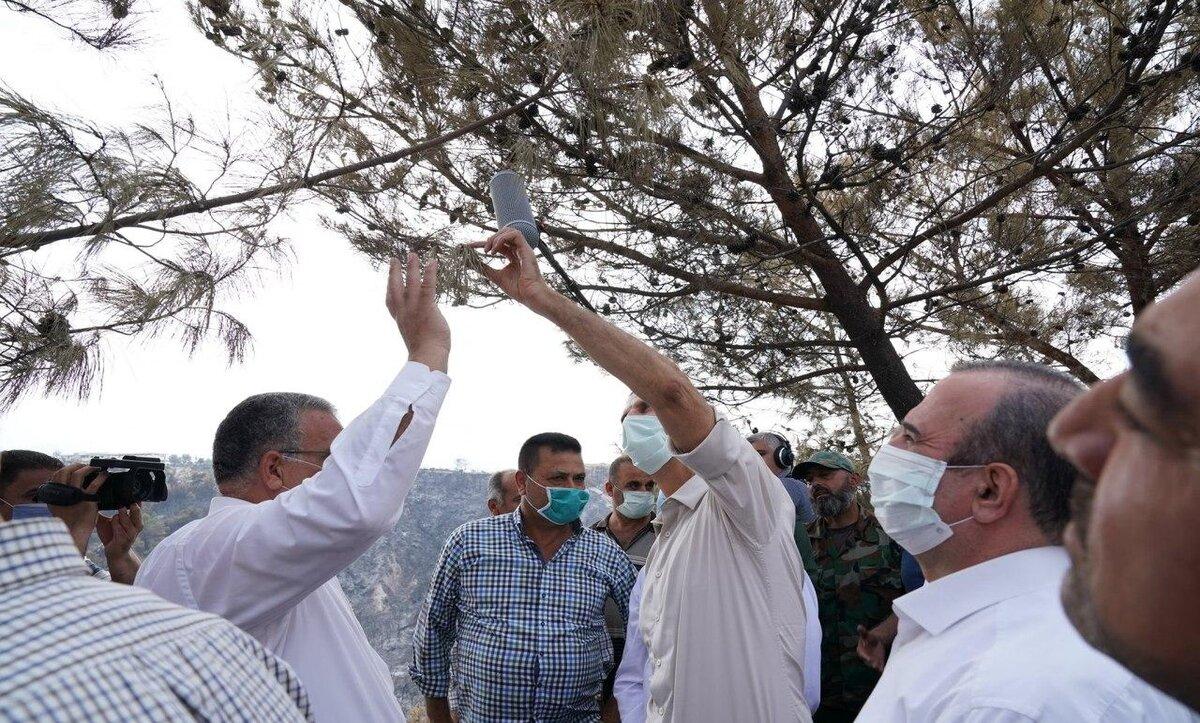بشار الأسد في الساحل السوري