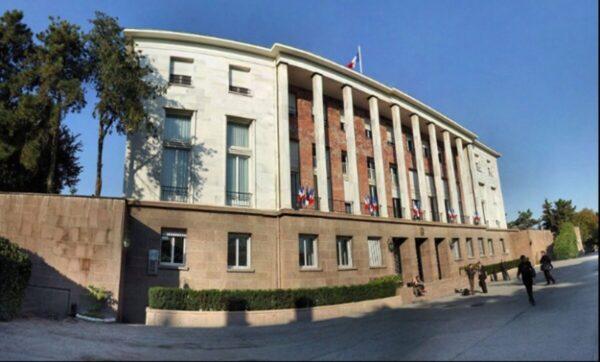 السفارة الفرنسية في أنقرة - وكالات