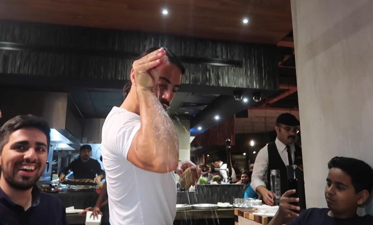 الطباخ التركي الشهير - نصرت
