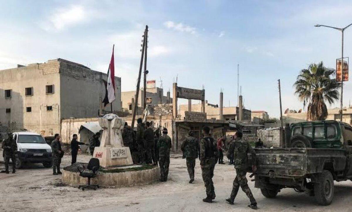 الفيلق الخامس في درعا - مواقع التواصل