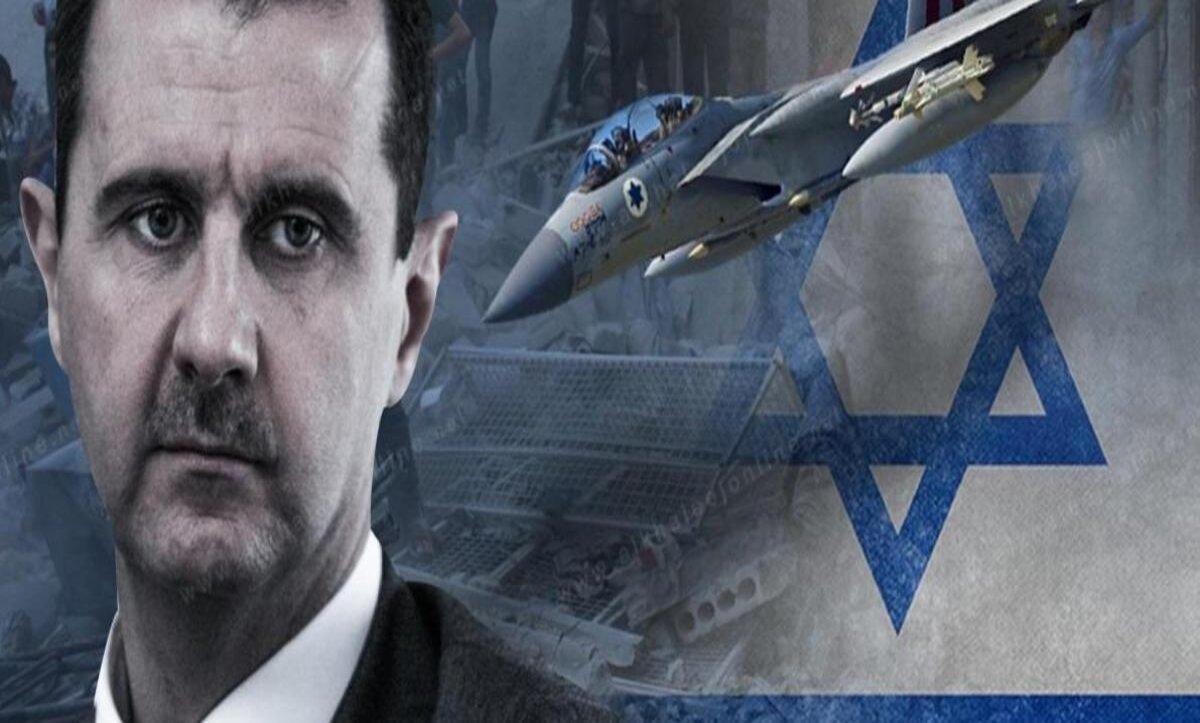 بشار الأسد وإسرائيل - مواقع التواصل