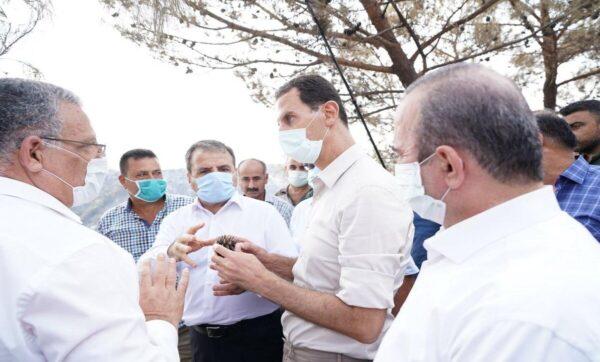 الأسد وابن خاله مخلوف يستثمران أحداث الساحل لتبييض صورتهما
