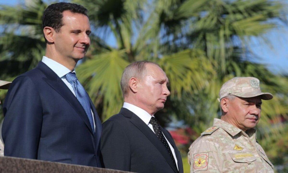 بوتين والأسد - أرشيف