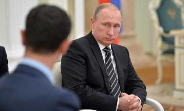 بوتين وبشار الأسد - أرشيف