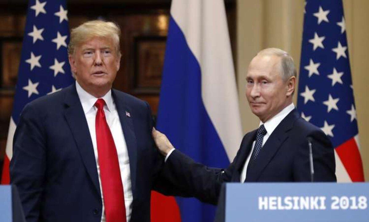 بوتين وترامب - مواقع التواصل