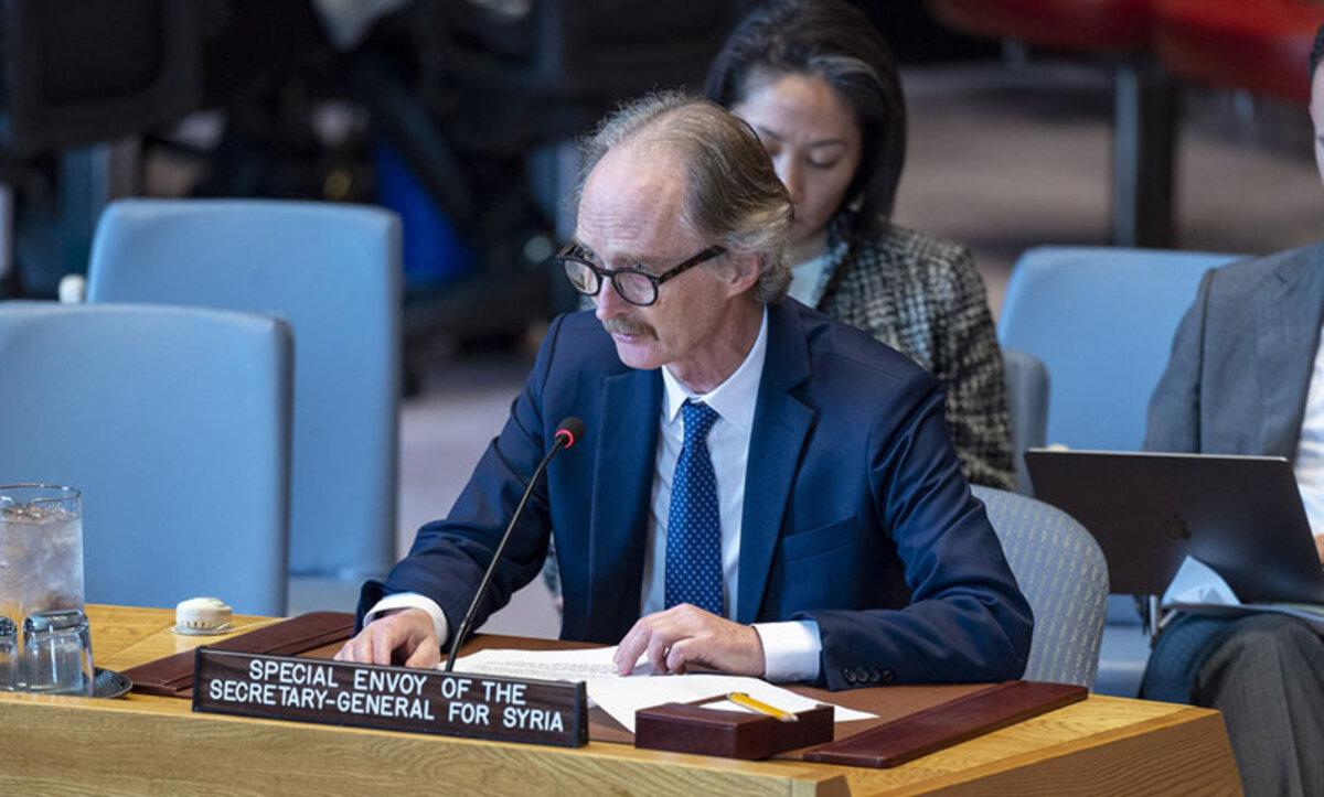 بيدرسون في مجلس الأمن - وكالات