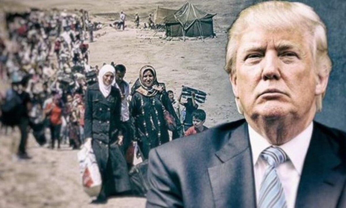 ترامب واللاجئين - تعبيرية