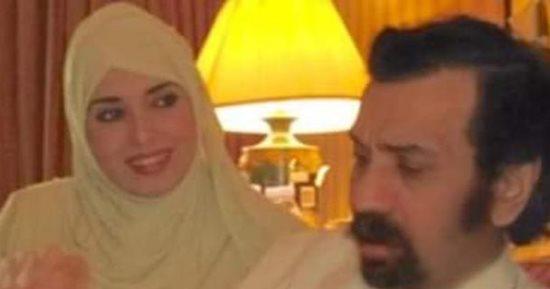 جيهان نصر مع زوجها