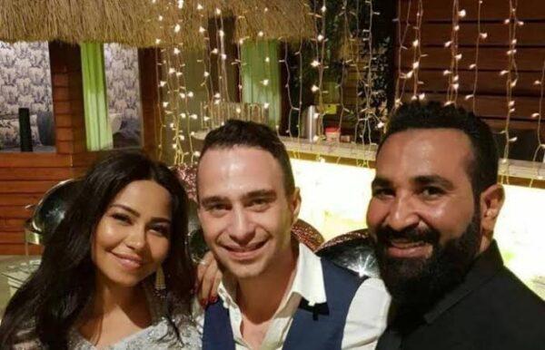 حسام حبيب مع شيرين ومع أحمد سعد