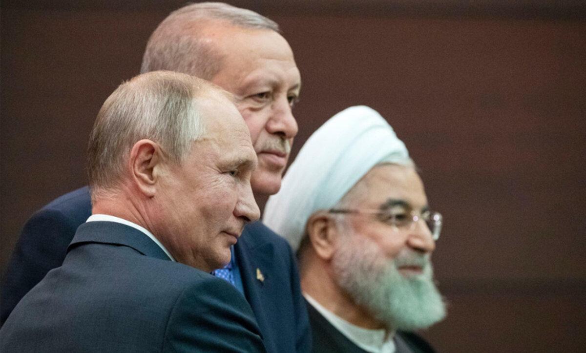 روسيا إيران وتركيا - الدول الضامنة في أستانا - مواقع التواصل