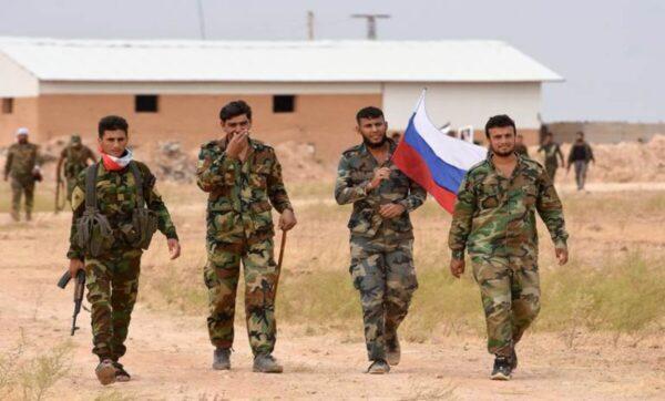 روسيا في دير الزور شرق سوريا - مواقع التواصل