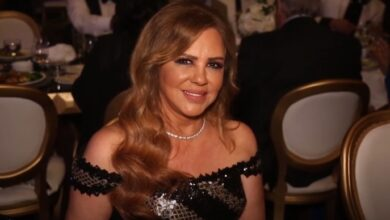 "Photo of سلمى المصري تشارك جمهورها بصورة من شبابها.. والمتابعون: ""الجمال الشامي الطبيعي"" (صورة)"
