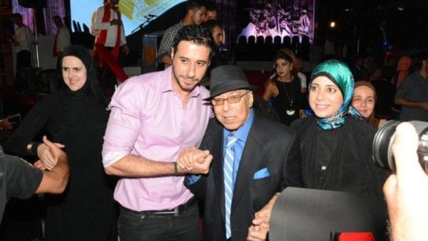 صلاح السعدني مع أحمد السعدني