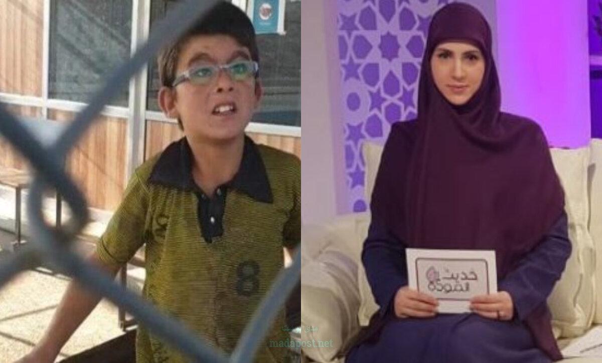 فاطمة نور الدين والطفل السوري - مدى بوست