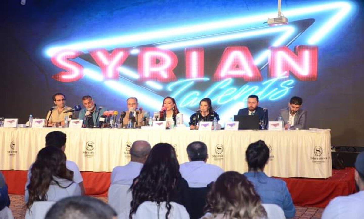 مؤتمر صحفي حول برنامج المواهب السوري الجديد - مواقع التواصل