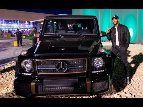 محمد رمضان وسيارته