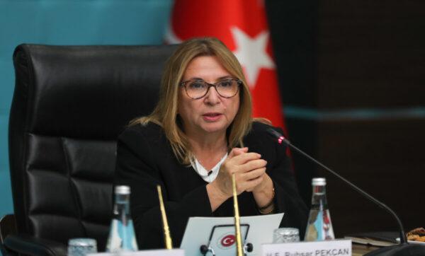 وزيرة التجارة التركية - وكالات
