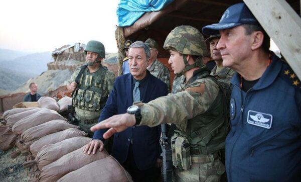 وزير الدفاع التركي - خلوصي أكار - خلوصي أكار: تركيا دخلت إلى إدلب بسبب نظام الأسد