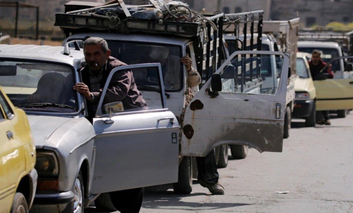 وقود سوريا -مواقع التواصل