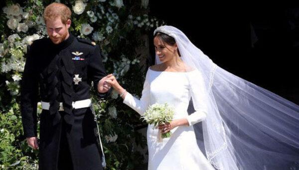 ميغان ماركل مع الأمير هاري