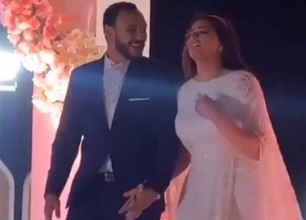 أحمد خالد صالح مع هنادي مهنا