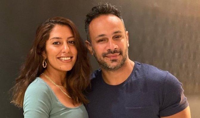 محمد عطية وميرنا الهلباوي