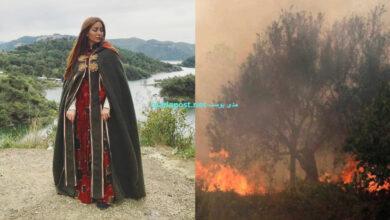 Photo of نسرين طافش ترثـ.ـي غابات سوريا بمشاهد من مسلسل مقامات العشق (صور)