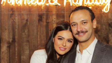 Photo of الفيديو الأول من حفل زفاف هنادي مهنى على أحمد خالد صالح