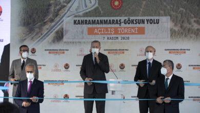 Photo of أردوغان يفتتح طريقاً استراتيجياً في قهرمان مرعش ويؤكد أن النصر الأذربيجاني بات قريباً