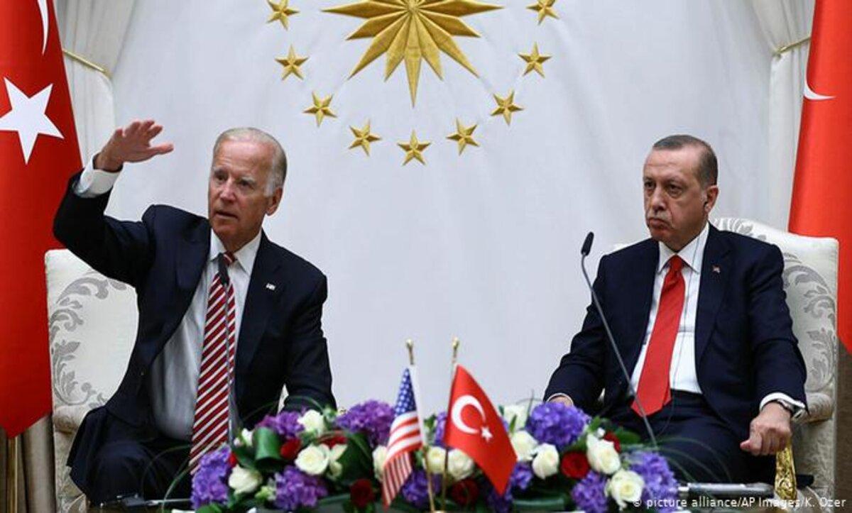 أردوغان وبايدن - وكالات