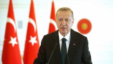 Photo of أردوغان: نتحمل مسؤوليات حاسمة على الصعيد الدولي وسنواصل الوقوف إلى جانب أشقائنا في سوريا وليبيا