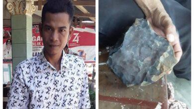 Photo of قصة شاب إندونيسي تحوّل إلى مليونير والسبب نيزك (فيديو)