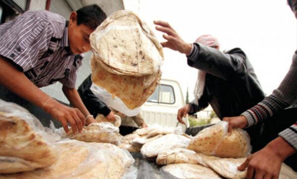 الخبز في سوريا - مواقع التواصل
