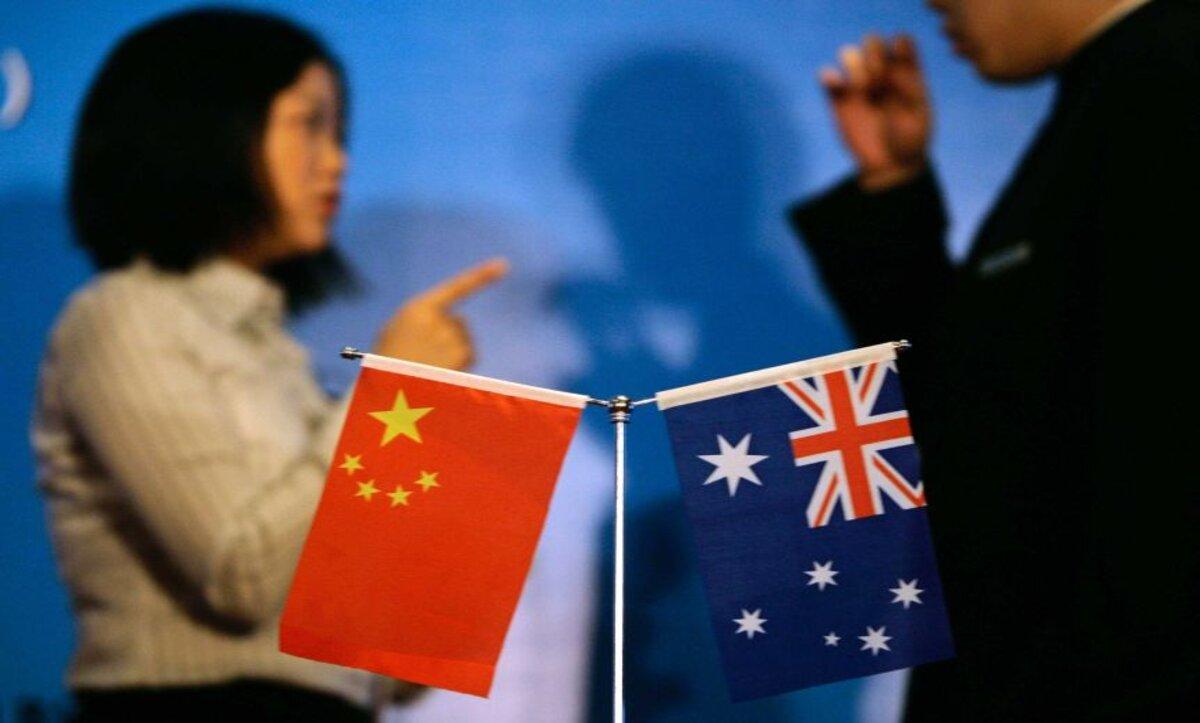 الصين أستراليا -مواقع التواصبل