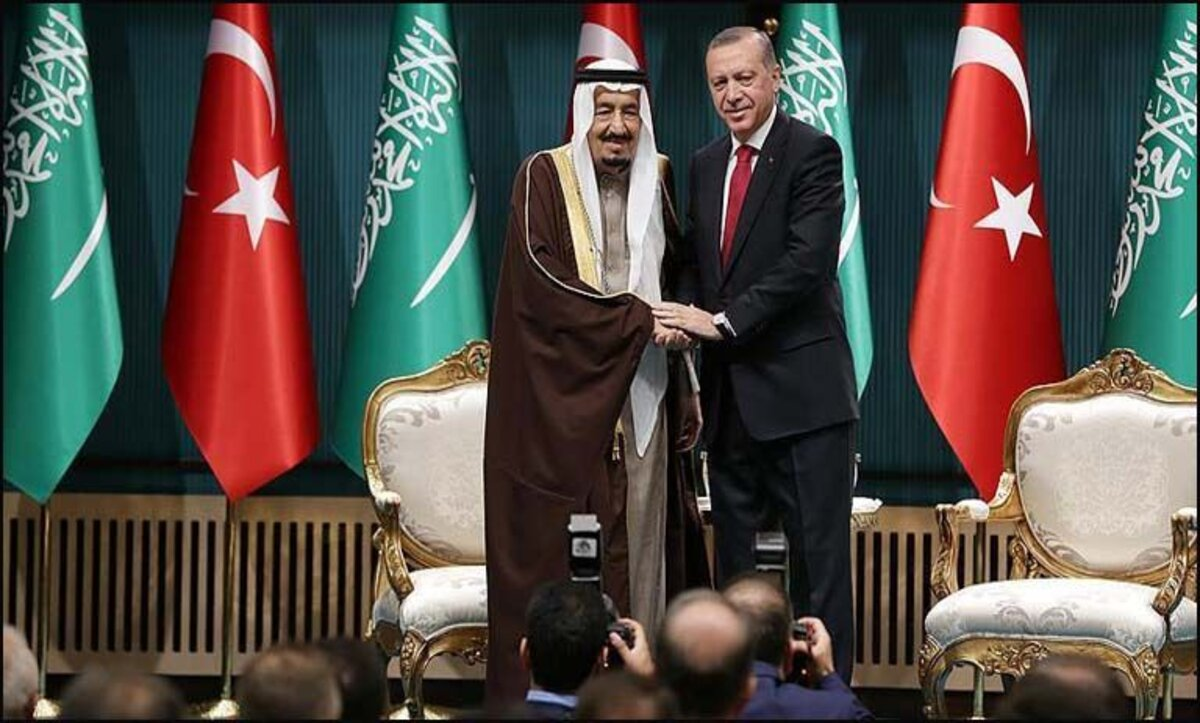 الملك سلمان والرئيس أردوغان
