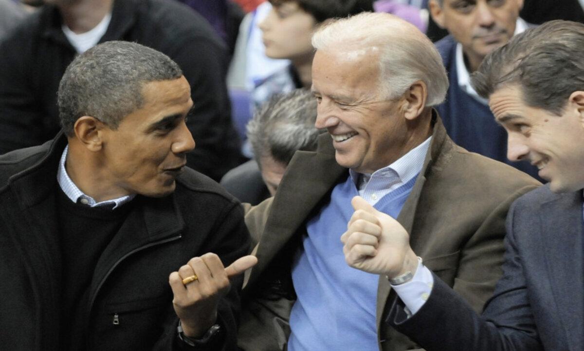 باراك أوباما وجو بايدن