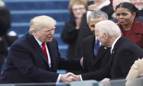 ترامب بايدن وأوباما - وكالات مايك بومبيو يتجهز لانتخابات 2024 ومنافسة كبيرة بين الجمهوريين والديمقراطيين في انتخابات 2020