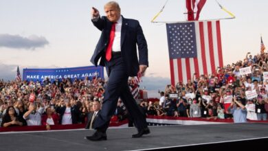Photo of لا يعرف ما يريد.. دونالد ترامب يطالب أنصاره بقلب نتائج الانتخابات لصالحه