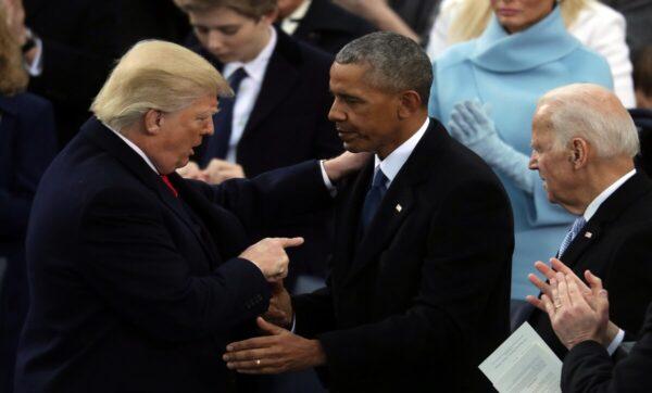 ترامب لابن بايدن: والدك كان نائباً للرئيس لأنه فهم كيف يقبّل مؤخرة أوباما (فيديو)