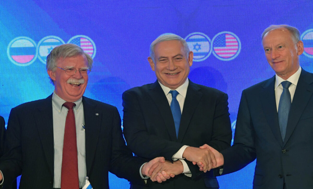 توافق روسي إسرائيلي أمريكي