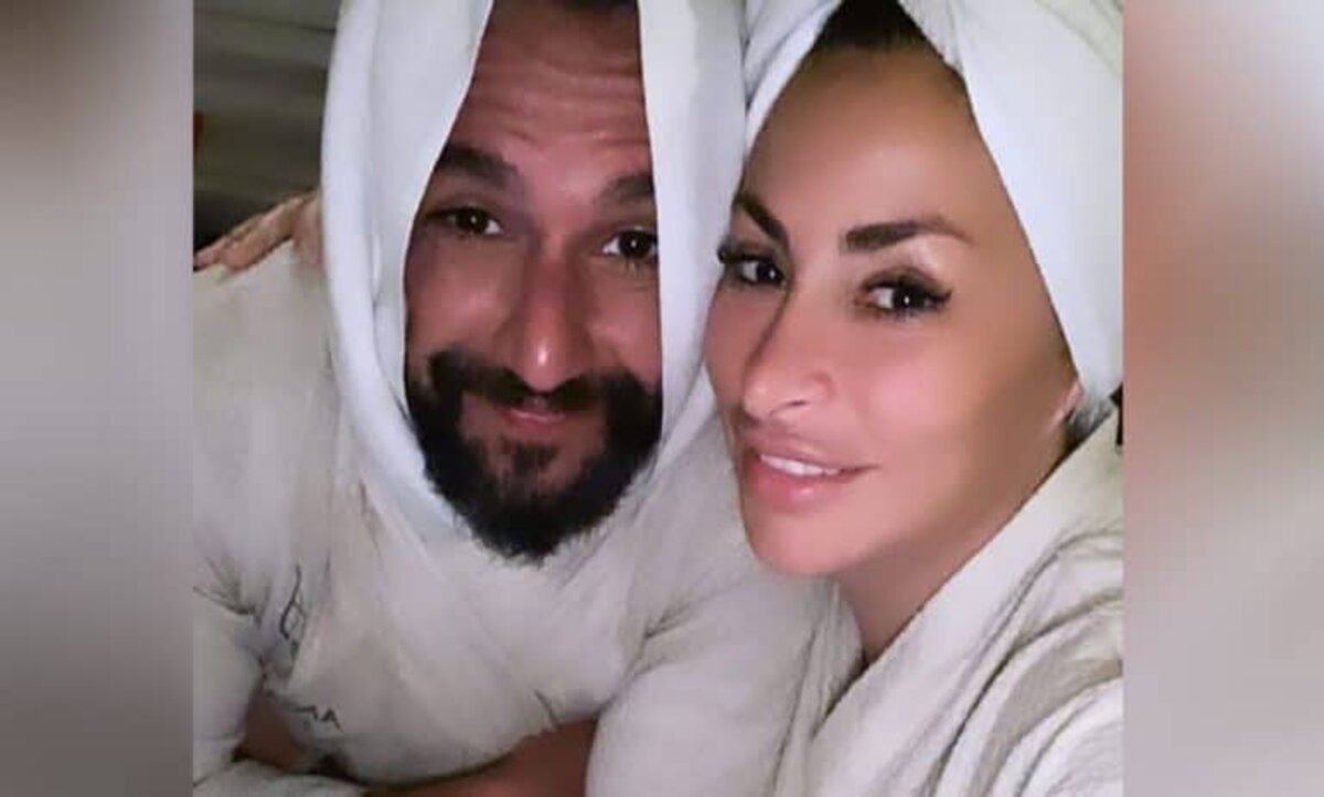 ديمة بياعة وزوجها - مواقع التواصل