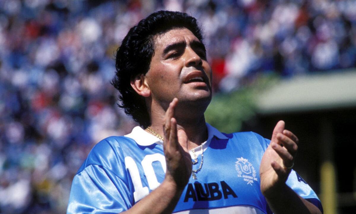 دييغو ماردونا - نجم الكرة الأرجنتيني