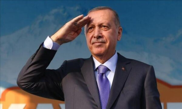 رحب طيب أردوغان --- وكالات