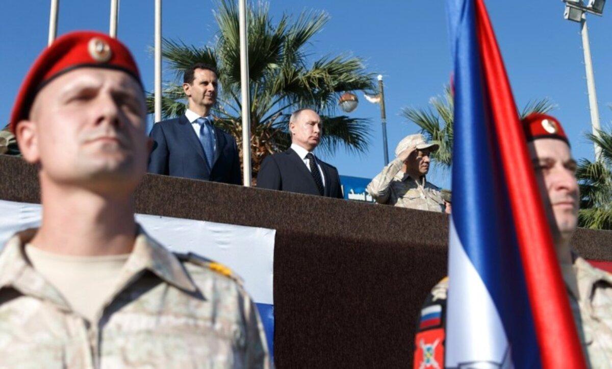 روسيا ونظام الأسد - مواقع التواصل
