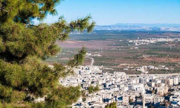 منطقة أريحا في محافظة إدلب شمال غرب سوريا