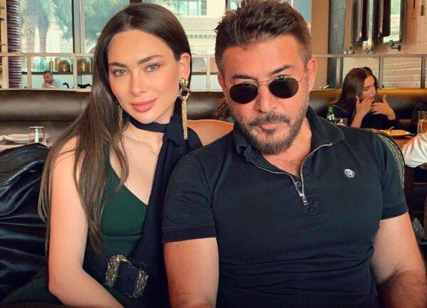 ستيفاني صليبا مع عابد فهد