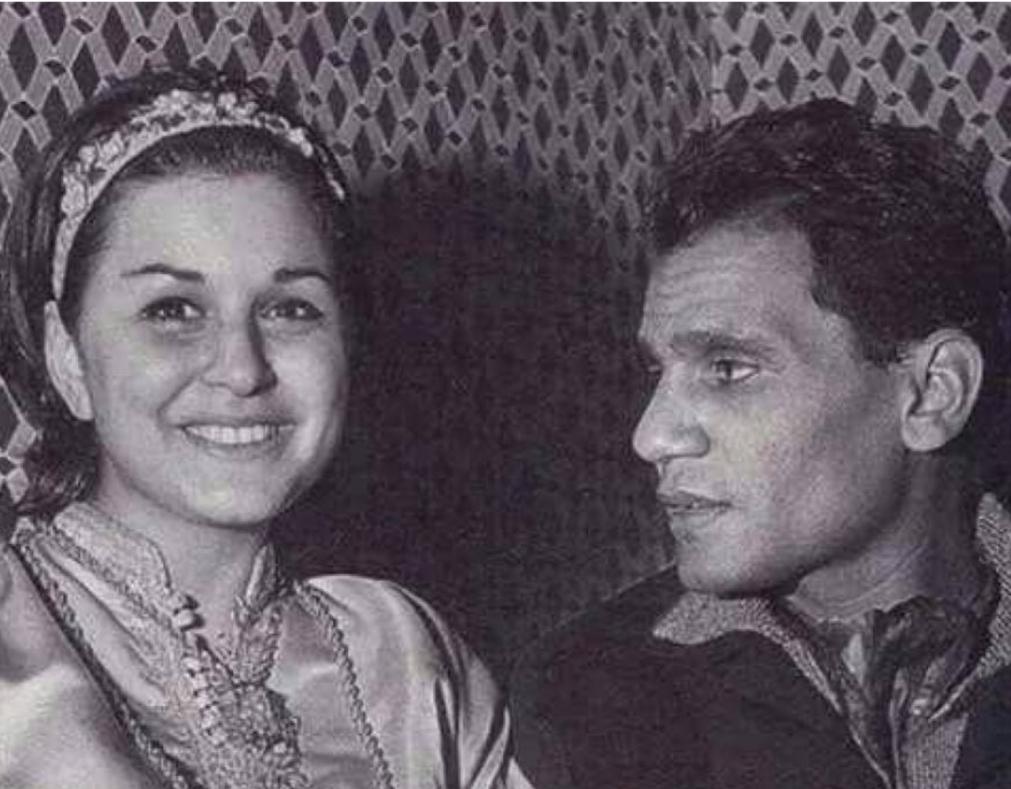سعاد حسني مع عبد الحليم حافظ