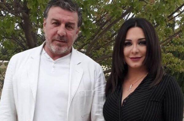 سلاف فواخرجي مع وائل رمضان